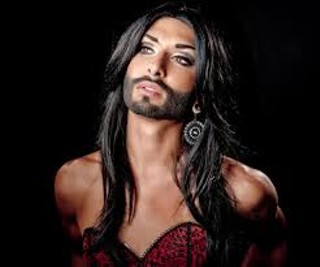 Conchita Wurst is officially prettier, manlier, and a better singer than Vladimir Putin.