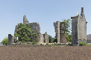Sneed House ruins today