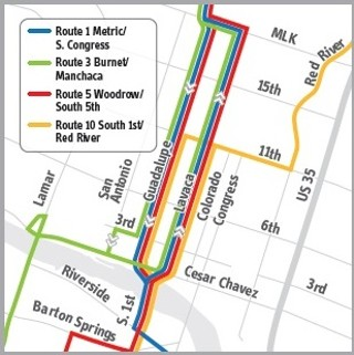 Bye, bye, Congress Avenue: Part of the changes to Cap Metro's downtown routes