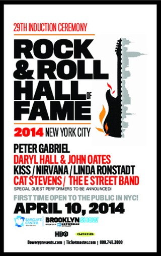 2014 Rock & Roll Hall of Fame Broadcast