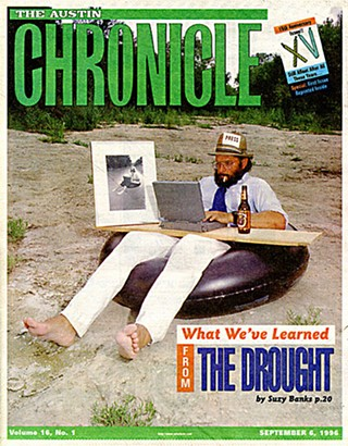 The <i>Chronicle</i> cover my first week on the job