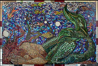 Mosaic by Pascal Simon at Pandora Studios (35)