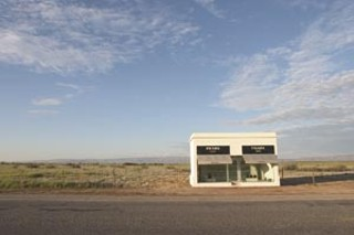 To Marfa, on a Tuesday in December