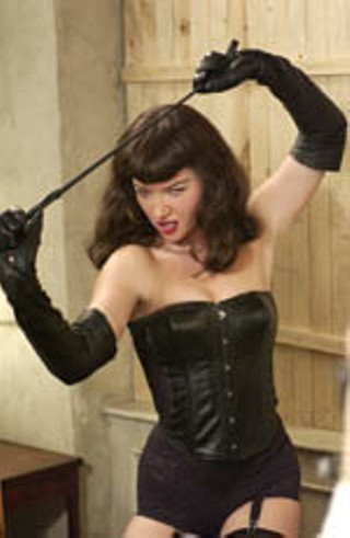 Gretchen Mol in Mary Harron's <i>The Notorious Bettie Page</i>