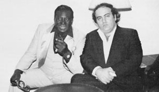 Albert King and Clifford Antone, 1985
