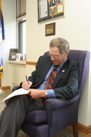 North Dakota Agriculture Commissioner Roger Johnson last August signing off on a proposed state rule allowing farmers there to legally grow industrial hemp