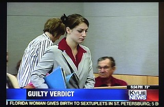 Laura Hall was sentenced Tuesday for her role in the 2005 murder of Jennifer Cave. Hall will serve five years in state prison for tampering with evidence and one year concurrently in jail for hindering the apprehension of convicted killer Colton Pitonyak.
