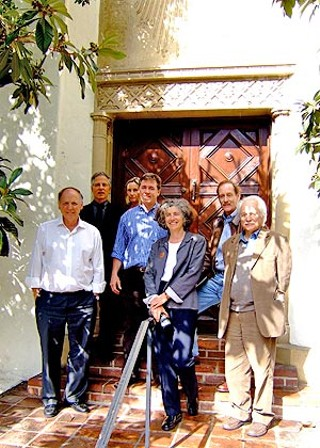 The 2007 CNU Jury: (l-r) Stefanos Polyzoides, Moule & Polyzoides Architects and Urbanists; Andrés Duany, Duany Plater-Zyberk & Co.; Susan Van Atta, Van Atta Associates; Vince Graham, I'On Group; Hillary Brown, New Civic Works; Rick Cole, city of San Buenaventura; Kjell Forshed, Brunnberg & Forshed Architecs