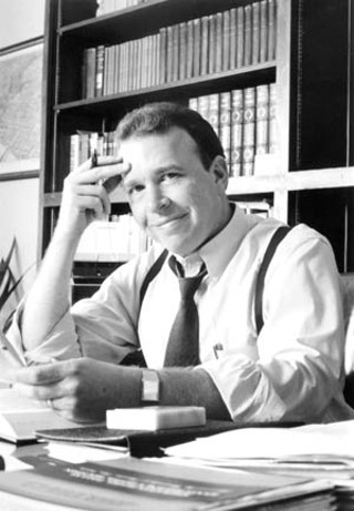 Baird in his office at the CCA