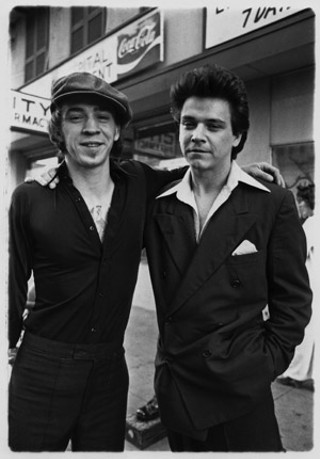 Stevie and Jimmie Vaughan, April 1978. Some of these images have never been published.