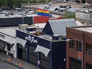 Does a rainbow flag a gay bar make? The new Kiss & Fly, 