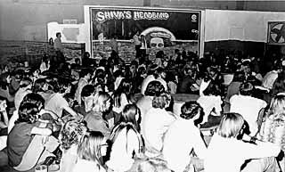 Shiva's Headband at the Armadillo World Headquarters, 1970