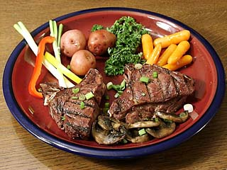 Venison has less than 2% fat and significant proportions of Omega fatty acids.
