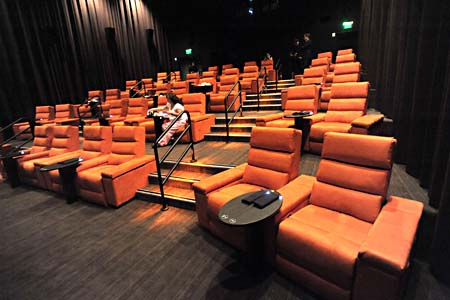 Gold class movie theatres