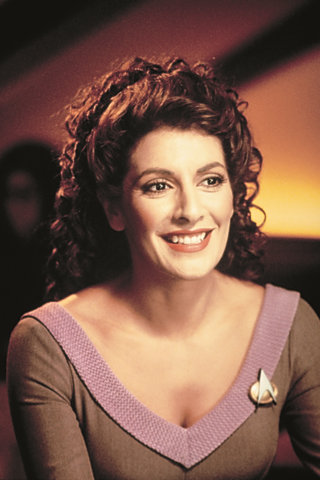 Interview with Marina Sirtis of Star Trek: The Next Generation ...