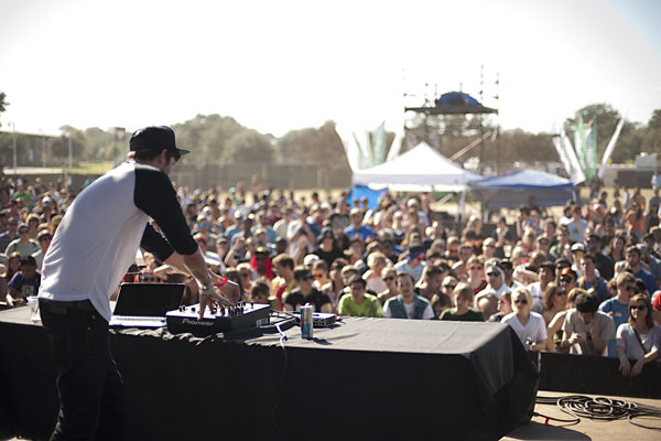 Baauer at Fun Fun Fun Fest, November 4, 2012