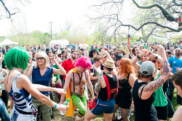 GayBiGayGay 2013: Estimations ranged from 3,500 to over 4,000 attendees at this year's annual Austin gay family reunion.