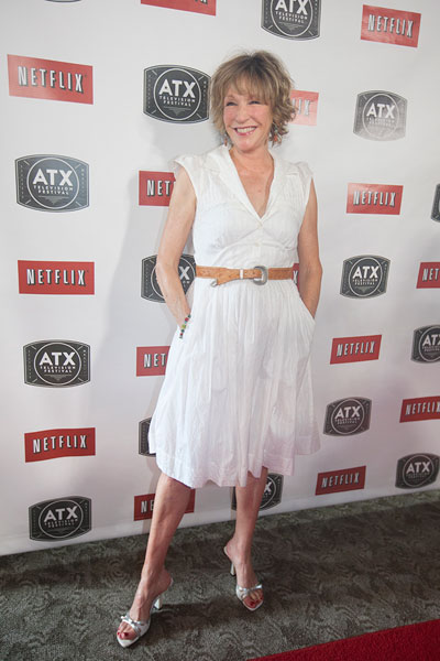Betsy Randle, who played Amy Matthews in Boy Meets World, walks the red carpet at the ATX Television Festival 2013. For more on the fest, see