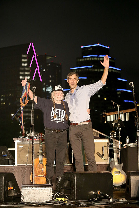 Beto O Rourke Rally With Willie Nelson 1 Of 59 Photos