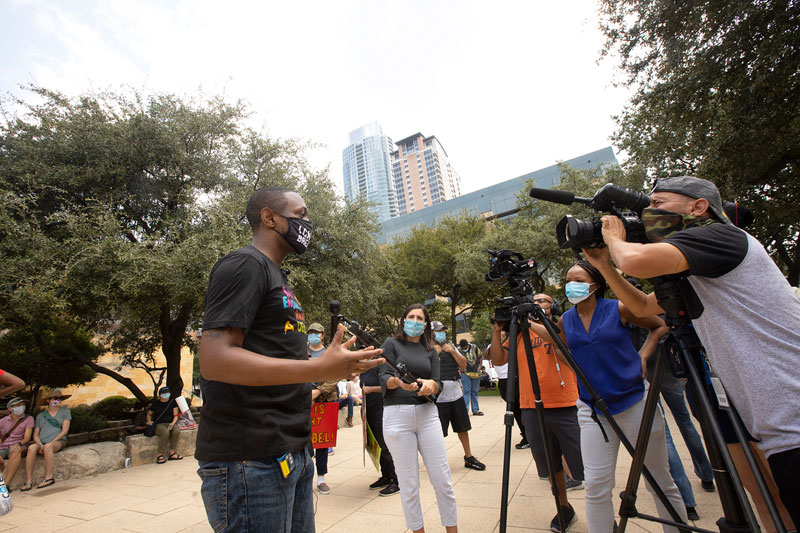 Stand 4 Breonna Taylor Rally - 1 of 52 - Photos - The Austin Chronicle
