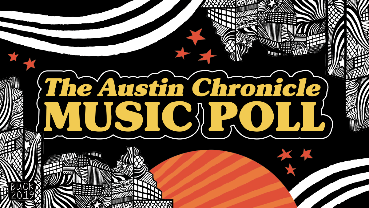 Austin Music Awards Ballot 2018-2019 - The Austin Chronicle