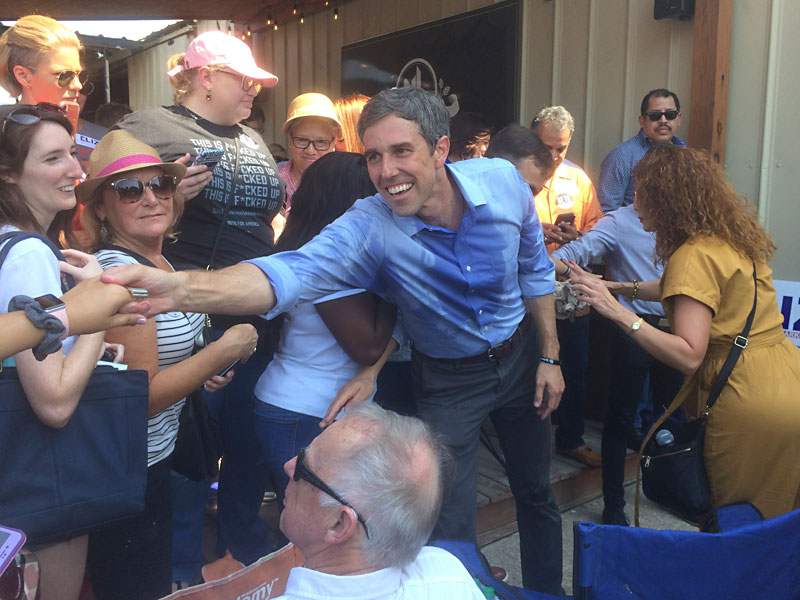 Beto O'Rourke's Long, Hot Road to the Texas Primary: We