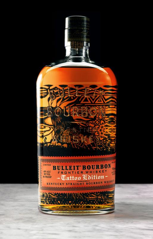 977379a46fe52 Local Artist Thomas Hooper Tattoos Bulleit Bourbon: Austin is one of ...