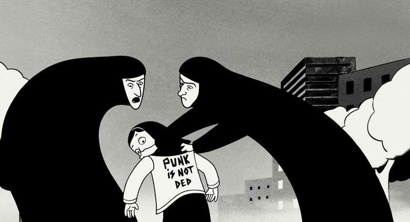 PERSEPOLIS Movie PHOTO Print POSTER Textless Film Art Chiara Mastroianni Iran 01