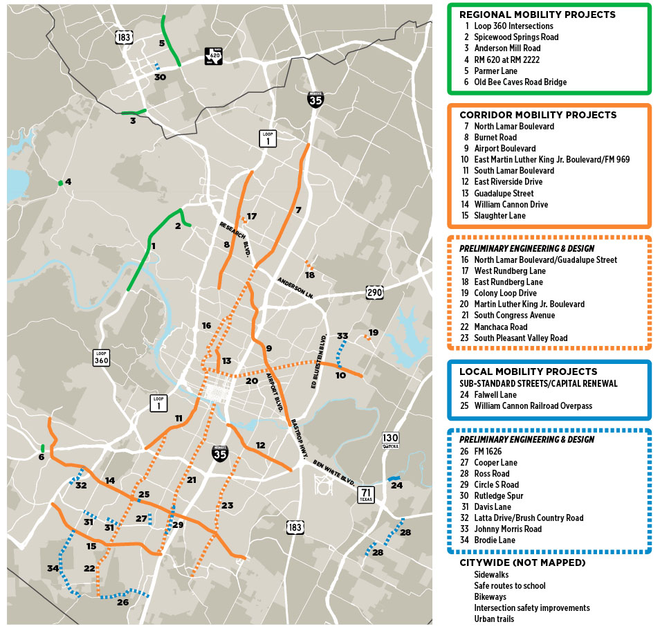 Project and Program Map - News - The Austin Chronicle