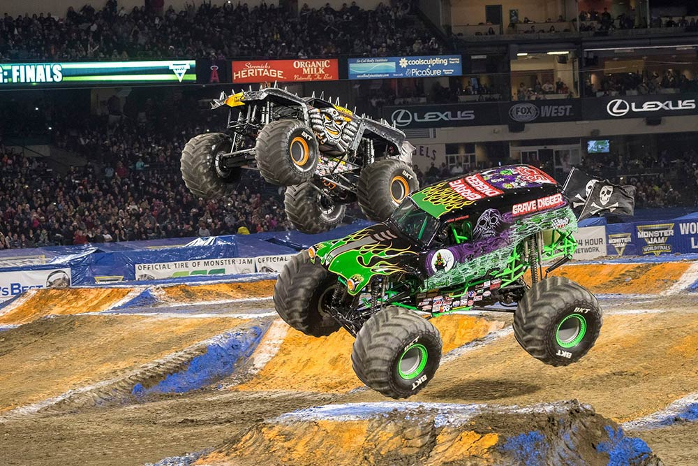 Details of Monster Jam Austin Tickets and the Ticket Luck value