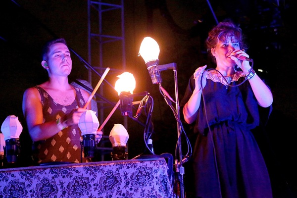 ACL Live Shot: Purity Ring: Canadian duo unfazed by Depeche