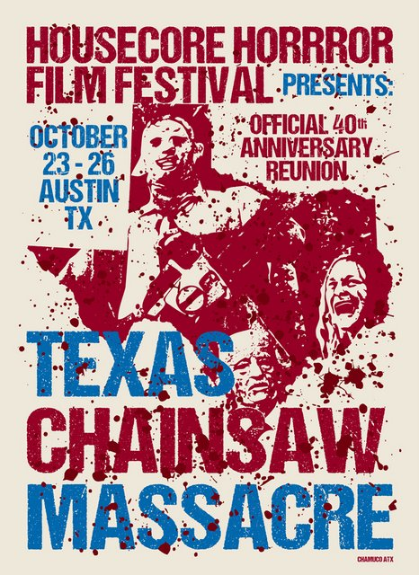 Come join us! Housecore Horror Film Festival reunites the original Texas Chain Saw Massacre cast for an unique 40th anniversary screening