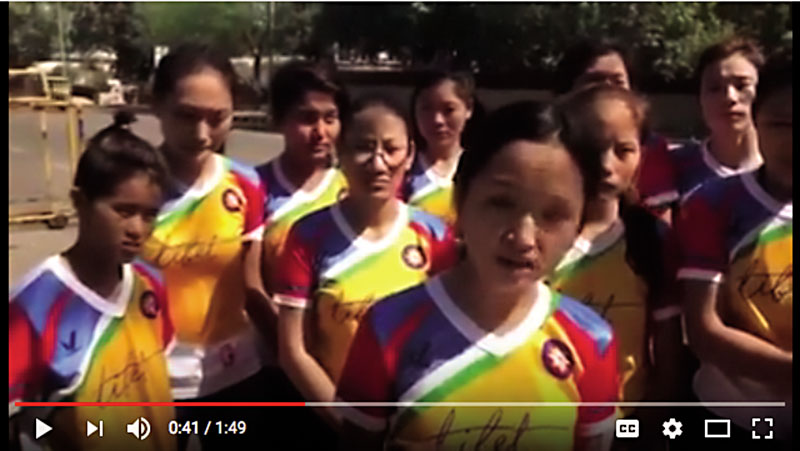 Tibet women's soccer team denied U.S. travel visas