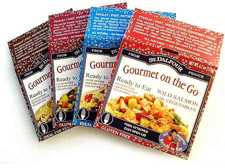 Gourmet on the go st dalfour 39 s premade meals in a can for Cuisine 2 go