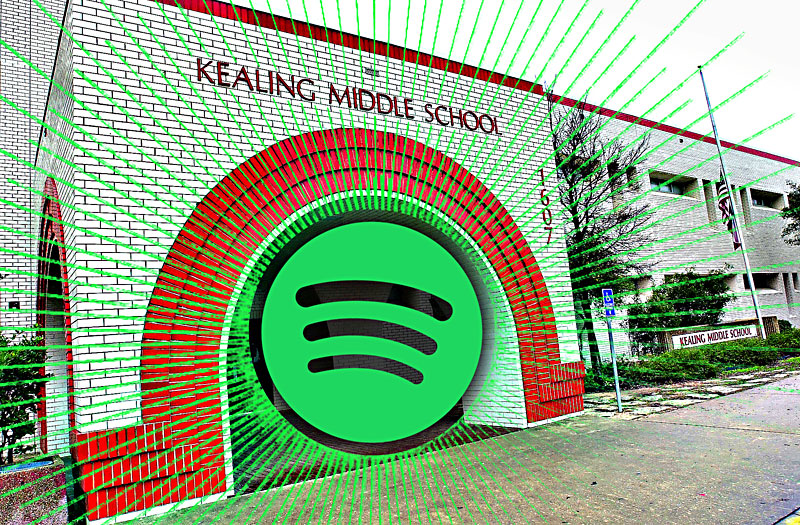 Playback: Spotify Gifts Kealing Middle School: After the