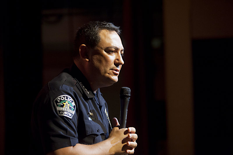 Ott Takes On Acevedo City Manager Reprimands Police Chief