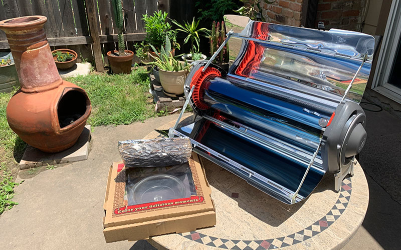 Backyard Solar Cooking