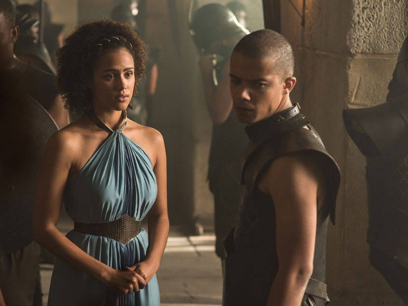 Game Of Thrones Missandei Stops By Austin Nathalie Emmanuel Talks About The New Season Of Hbos Hit Show Screens The Austin Chronicle