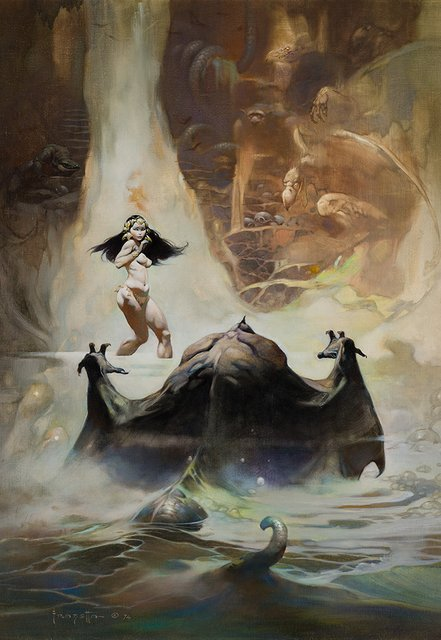 Rodriguez Brings Back Frazetta Gallery Show Highlighting