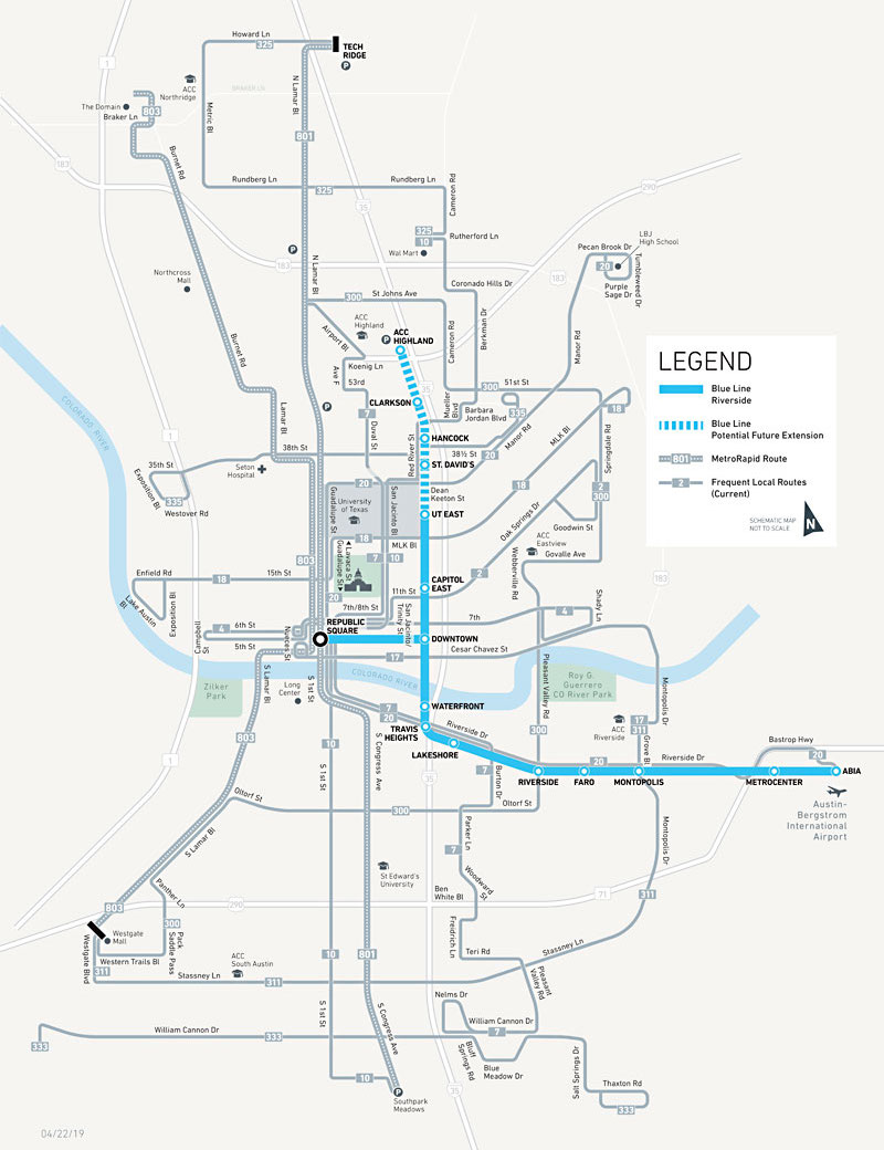 Project Connect S Blue Line To Connect Austin Airport To