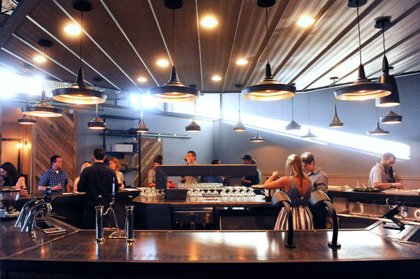 First Look: Cuvée Coffee Bar: They\'re not quite there yet, but it\'s ...