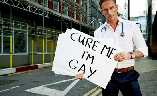 Gay British medical doctor and TV presenter, Christian Jessen
