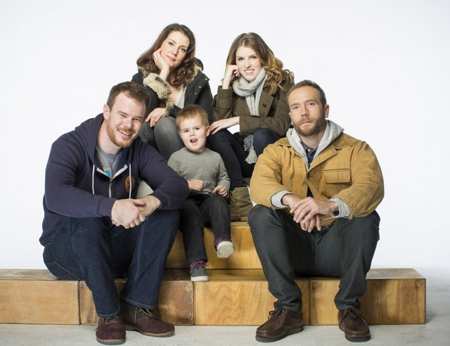 The writer/director explores family and the strains of the holiday season  in his newest film (top left to right: Melanie Lynskey, Anna Kendrick, ...