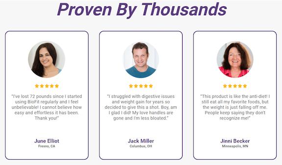 Biofit Customer Reviews: