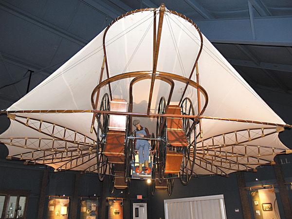 Day Trips The Ezekiel Airship Flew Into Texas Mythology