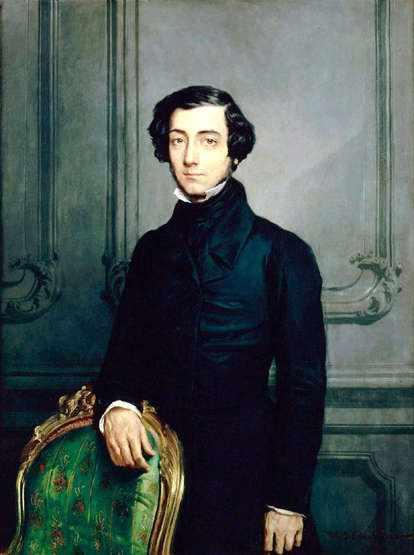 Alexis de Tocqueville: Don't be wanting none of that Frenchified thinking around here