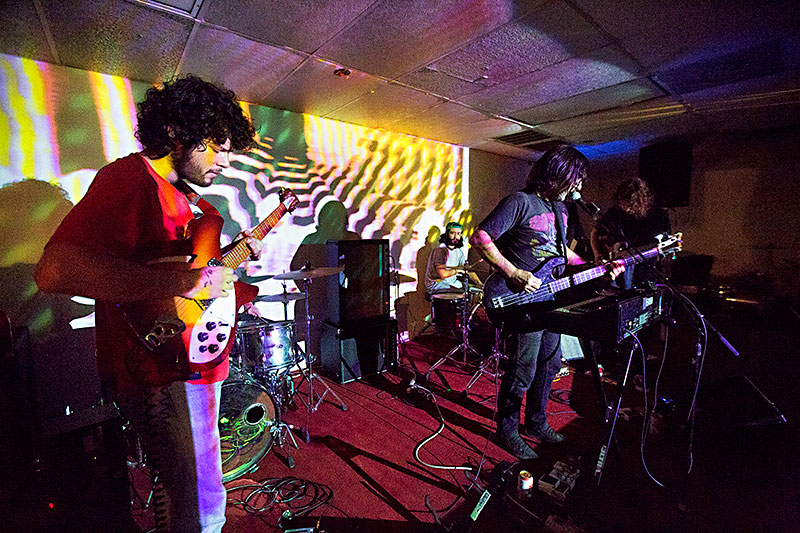 Hollow Trees Performing At The Electric Church In April Photo By Jana Birchum