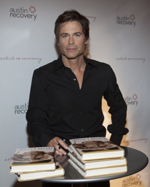 Rob Lowe helped raise funds for Family House