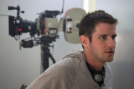 Richard Kelly on the set of 2006's 'Southland Tales'