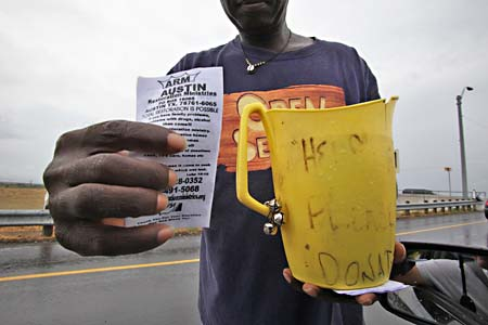 Panhandlers for God: Not all street solicitors are created